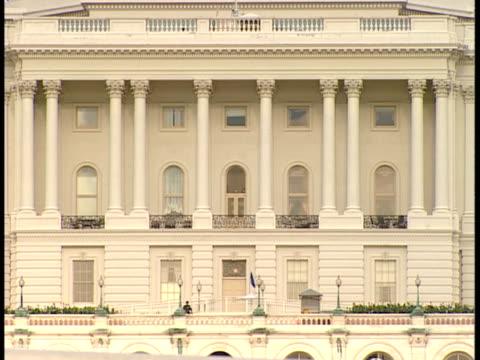 vidéos et rushes de cu, usa, washington, d.c., united states capitol - style néoclassique