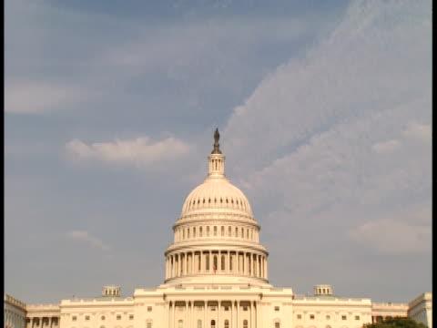 vidéos et rushes de ms, td, usa, washington, d.c., united states capitol - style néoclassique