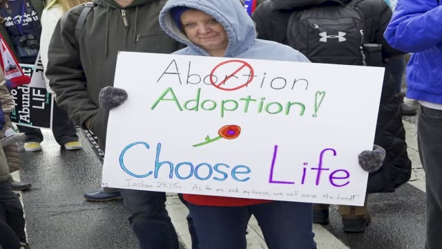 Washington DC UNITED STATES – JANUARY 18 2019 46th Annual March for Life in Washington DC The March for Life is an annual rally protesting both the...