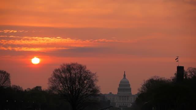 Washington DC - US Capitol sunrise