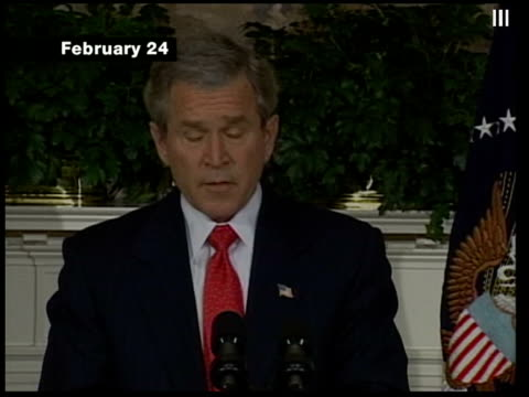vidéos et rushes de us president george wbush speech sot call upon the congress to promptly pass an amendment to our constitution defining and protecting marriage as the... - united states congress