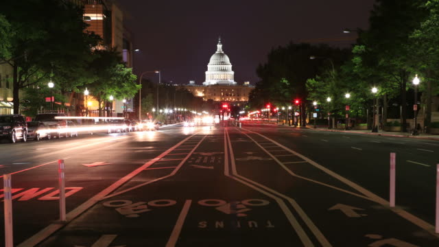 washington dc - la casa bianca washington dc video stock e b–roll