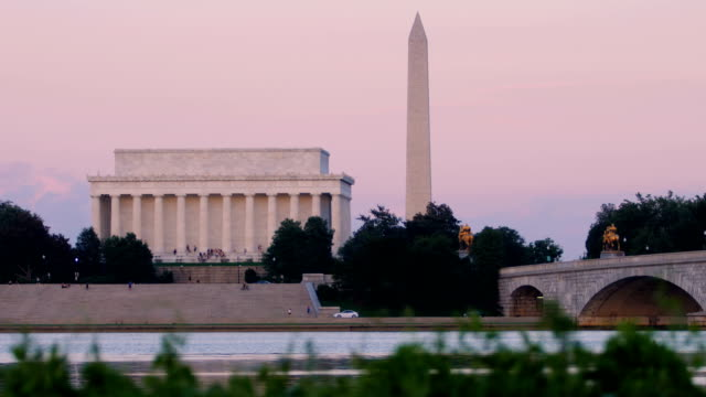 washington, dc - potomac river stock-videos und b-roll-filmmaterial