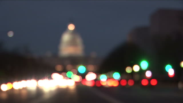 washington dccapitol building at night in washington dc united states - federal building stock videos & royalty-free footage