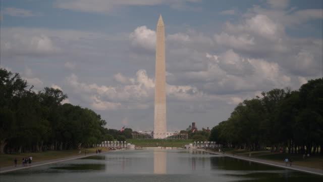 washington monument 4k - washington monument stock videos & royalty-free footage