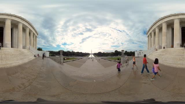 washington monument in dc usa - obelisk stock videos & royalty-free footage