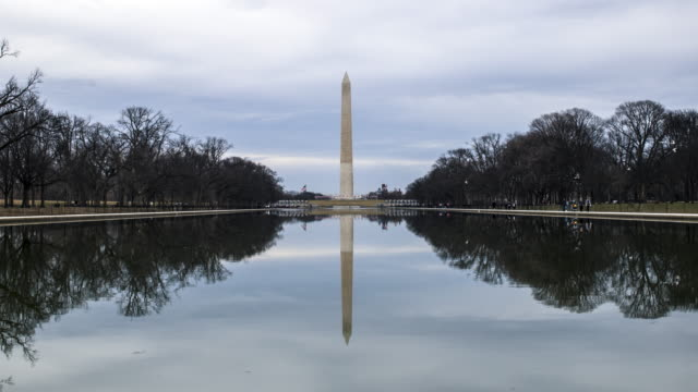 washington monument time lapse - washington monument washington dc stock videos & royalty-free footage