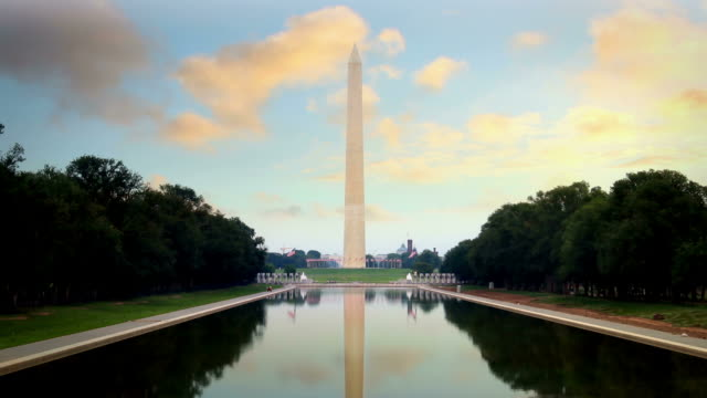 washington monument - obelisk stock-videos und b-roll-filmmaterial