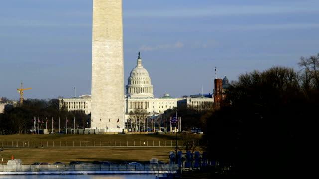 Washington Monument with U.S. Capital Building