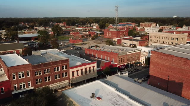 washington nc old port village aerial - small town stock videos & royalty-free footage