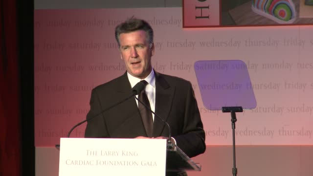 washington redskins general manager bruce allen on his organization's leadership, on tonights honoree wayne lapierre at 18th annual larry king... - nfc east stock videos & royalty-free footage