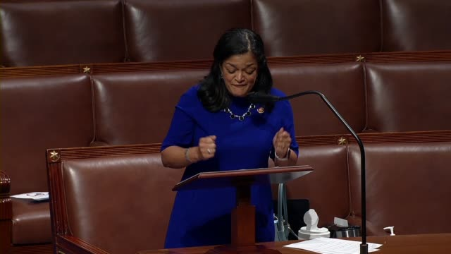washington representative pramila jayapal says in floor debate on the george floyd justice in policing act that taller black brothers sisters and... - lynching stock videos & royalty-free footage