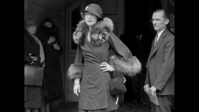 washington socialite evalyn walsh mclean poses she was swindled out of $100000 by con man gaston b means whom she had asked to help find the... - gerichtsverhandlung stock-videos und b-roll-filmmaterial