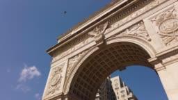 Washington Square Arch, Manhattan, New York City, USA