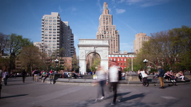 Washington Square Park hyper lapse