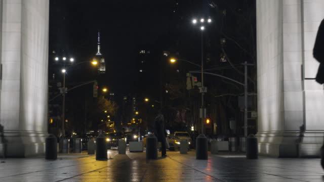 washington square park - new york university stock videos & royalty-free footage