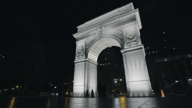 washington square - new york university stock videos & royalty-free footage