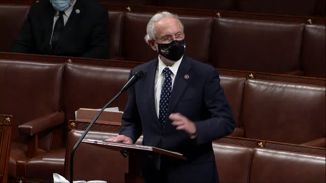washington state congressman dan newhouse says in debate on a second impeachment of president donald trump for high crimes and misdemeanors charging... - inflammation stock videos & royalty-free footage