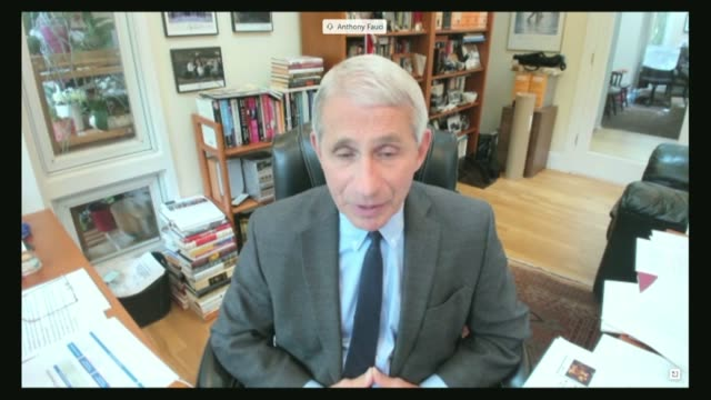 washington state senator patty murray asks national institute of allergy and infectious diseases director anthony fauci both by videoconference at a... - contact tracing stock videos & royalty-free footage