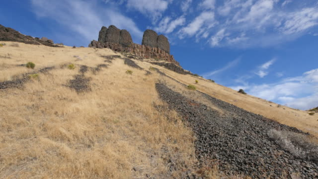 washington twin sisters lava formation - igneous stock videos and b-roll footage