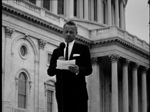 washington-based reporter explains a new york congressman warned martin luther king jr. not to go to chicago in 1966 because he would face major... - housing difficulties stock videos & royalty-free footage