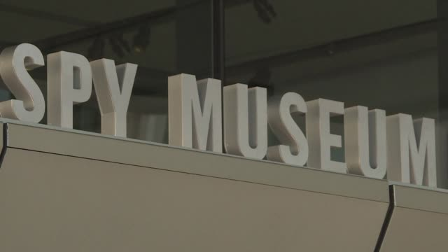 washington's new international spy museum offers an inside look into the world of espionage and intelligence boasting items like the ice axe used to... - waterboarding stock videos & royalty-free footage