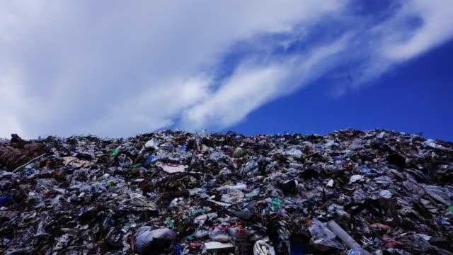 vídeos y material grabado en eventos de stock de lapso de tiempo de los residuos colina - isla de mull