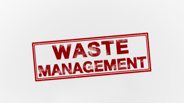 waste management - waste management stock videos and b-roll footage