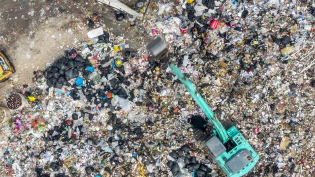 hyperlapse för avfallsdrift - sopsäck bildbanksvideor och videomaterial från bakom kulisserna