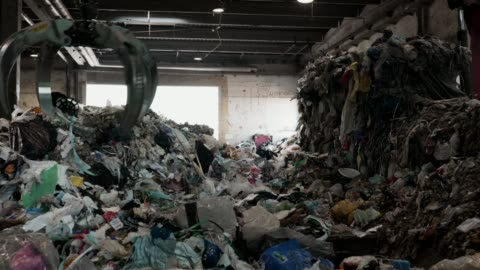 waste recycling - clothing stock videos & royalty-free footage