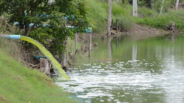 排水 - ボング点の映像素材/bロール