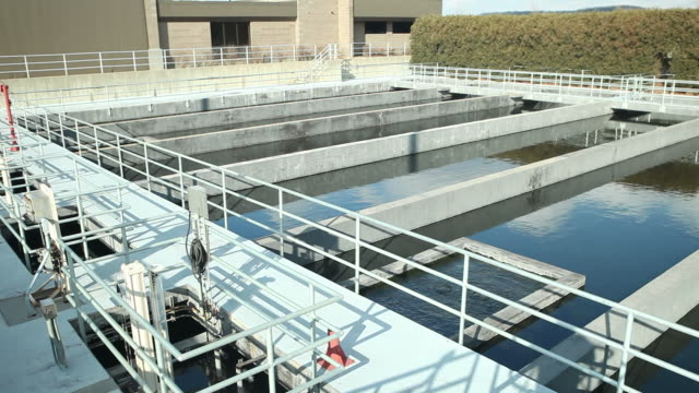 Waster Water Treatment Plant Chlorination Basins