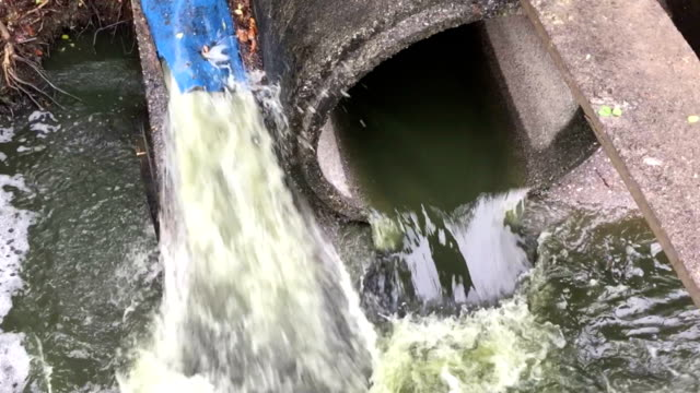 wastewater flow to sewer - runoff election stock videos & royalty-free footage
