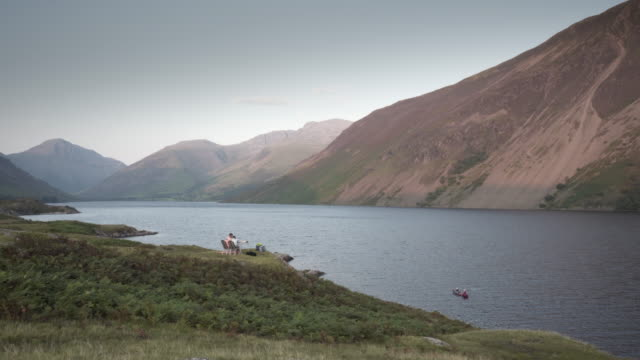 wastewater lake, cumbria, uk - national park stock videos & royalty-free footage