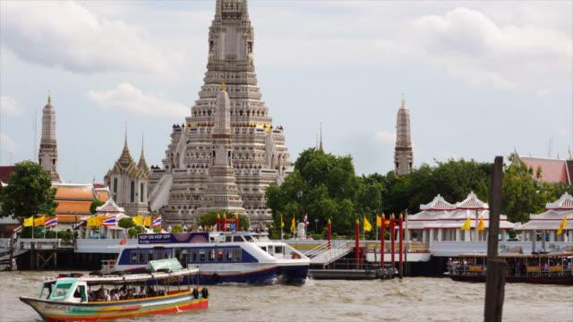 wat arun in bangkok, thailand stockvideo - bangkok stock-videos und b-roll-filmmaterial