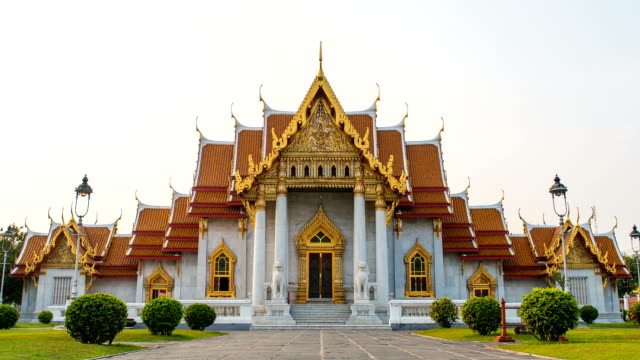 Wat Benchamabophit (Marble Temple) in Bangkok Thailand