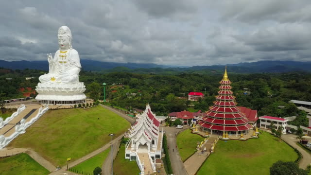 Wat Huai Pla Kung Temple, Chiang Rai, Thailand.