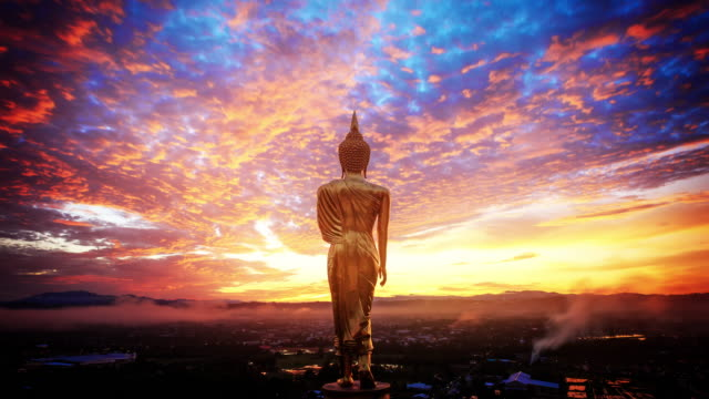 wat khao noi - buddhism stock videos & royalty-free footage