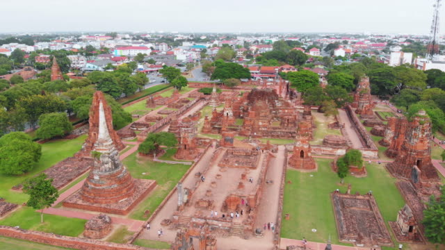 Wat Maha Tahat buddhistischen Tempel in Ayutthaya