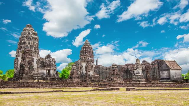 Wat Phra Sri Rattana Mahathat Historical park in lopburi Thailand