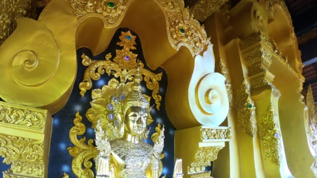 wat phra that doi phrayana, lampang province, thailand - theravada stock videos & royalty-free footage