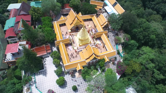 wat phra that doi suthep / chiang mai, thailand - temple building stock videos & royalty-free footage