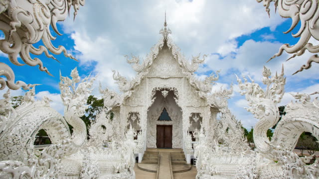 Wat Rong Khun magnificent architecture contemporary