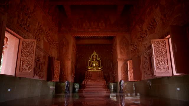wat sila ngu temple - animal representation stock videos & royalty-free footage