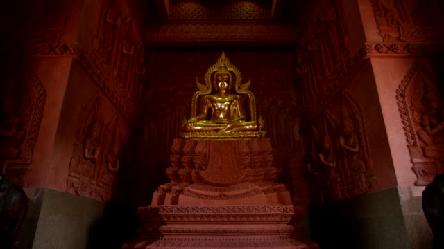 wat sila ngu temple - buddhism stock-videos und b-roll-filmmaterial