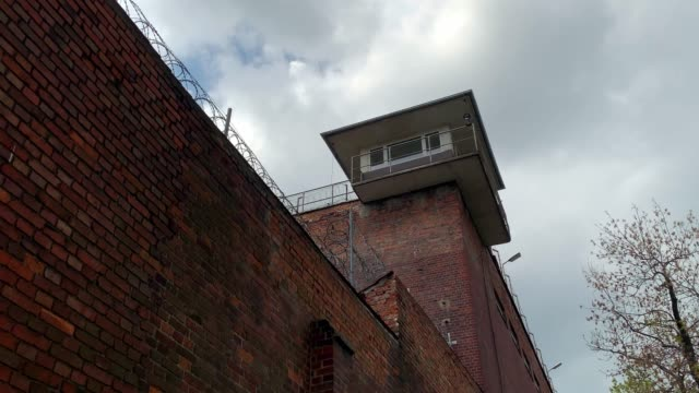 Watch tower in old city prison