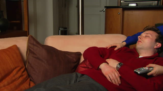 Watching TV and Sleeping - Jib Side 1
