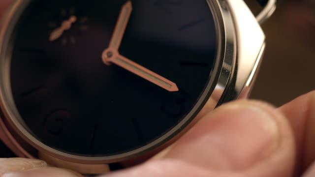 watchmaker assembling watch - wrist watch stock videos & royalty-free footage