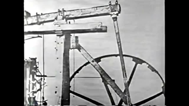 1959 water as industrial power source, resource: johns hopkins science review - watermill stock videos and b-roll footage