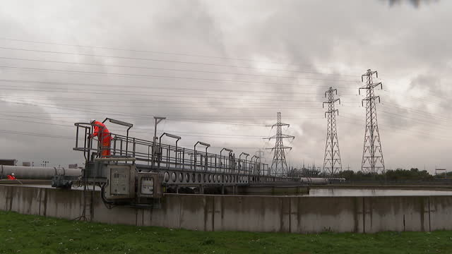 water at a sewage plant - film moving image stock videos & royalty-free footage